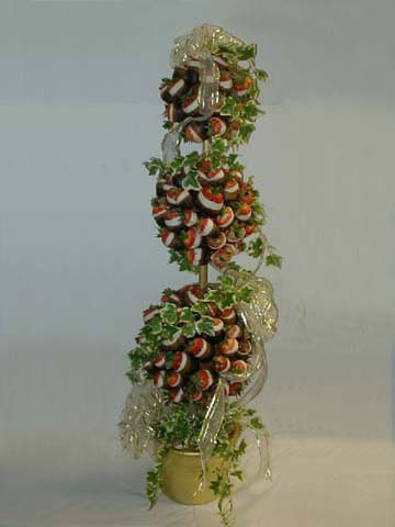Strawberry Topiary Tree - Large