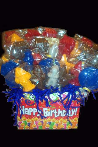 Birthday Heroes Gift Basket - Small