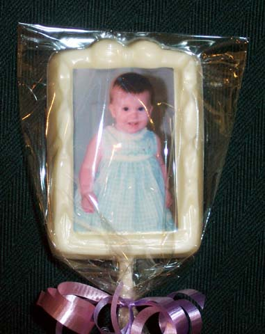 Bow Picture Frame Lollipop